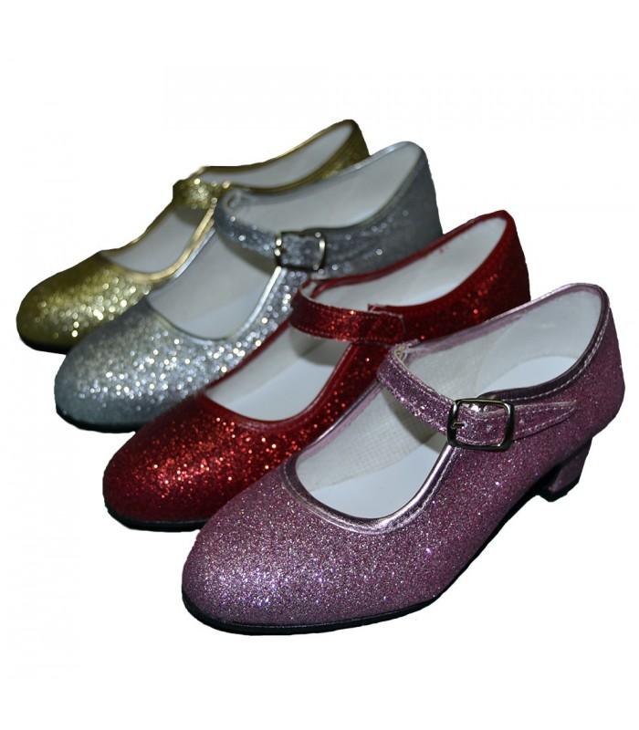 a97d40e5f Zapatos Glitter - Disfraces Maty