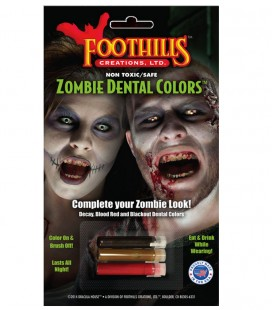 ZOMBIE DENTAL COLORS ADULTO
