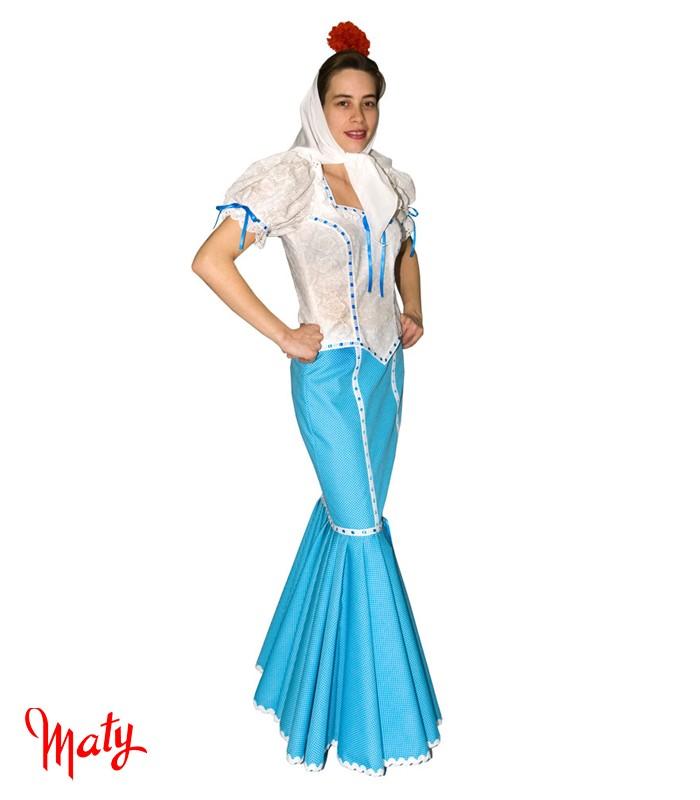 Vestido de chulapa mujer
