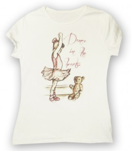 "CAMISETA ""DANCE IN THE HEARTS"""
