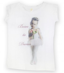 "CAMISETA ""BORN TO DANCE"" MOD. 2"