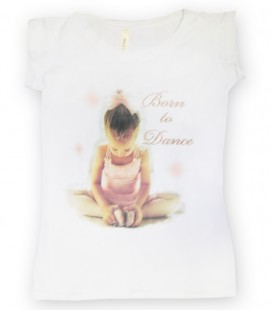 "CAMISETA ""BORN TO DANCE"" MOD. 3"