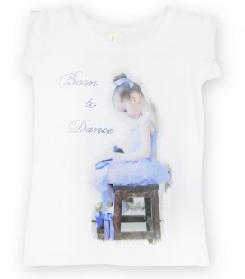 "CAMISETA ""BORN TO DANCE"" MOD. 5"