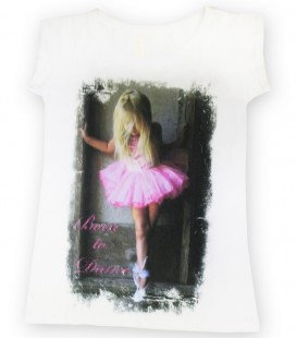 "CAMISETA ""BORN TO DANCE"" MOD. 6"