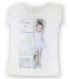 "CAMISETA ""BORN TO DANCE"" MOD. 8"