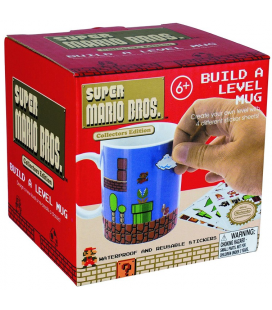 TAZA MARIO BUILD A LEVEL