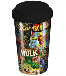 TRAVEL MUG MARVEL RETRO