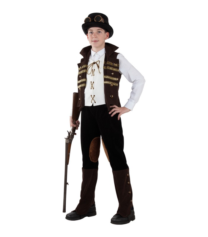 Disfraz Steampunk niño - disfraces Maty 31470a90c1b