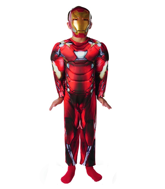 517ad13e67e Disfraz Iron Man Civil War Deluxe - Disfraces Maty