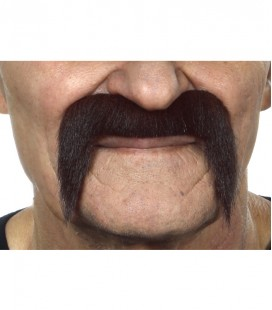 BIGOTE ROCKERO MARRON