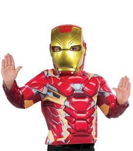 MÁSCARA IRON MAN AVENGERS
