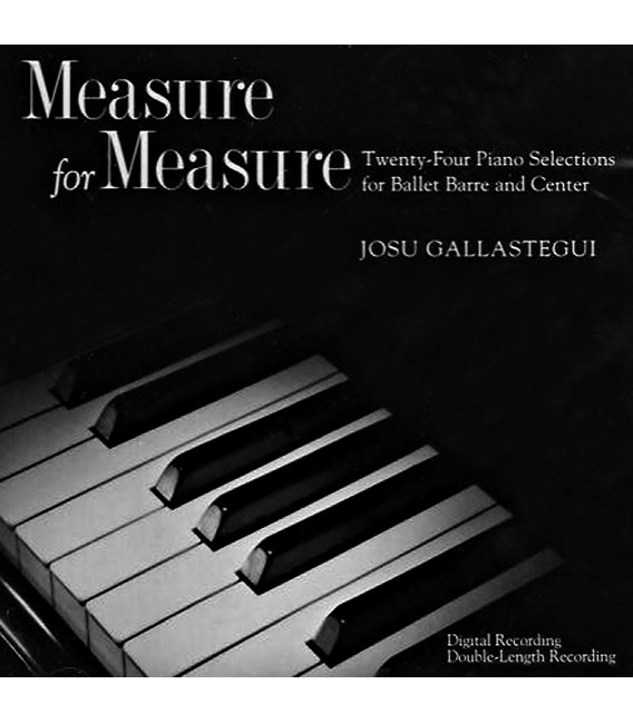 CD MEASURE FOR MEASURE JOSU GALLASTEGUI
