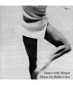 CD DANCE WITH MARGOT VOL 1 MUSICA PARA CLASES DE BALLET