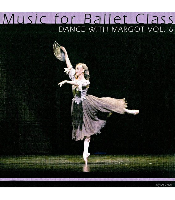 CD DANCE WITH MARGOT VOL 6 MUSICA PARA CLASES DE BALLET