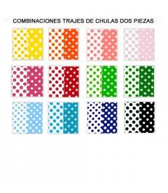 CHULA DOS PIEZAS