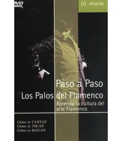 DVD PASO A PASO. LOS PALOS DEL FLAMENCO