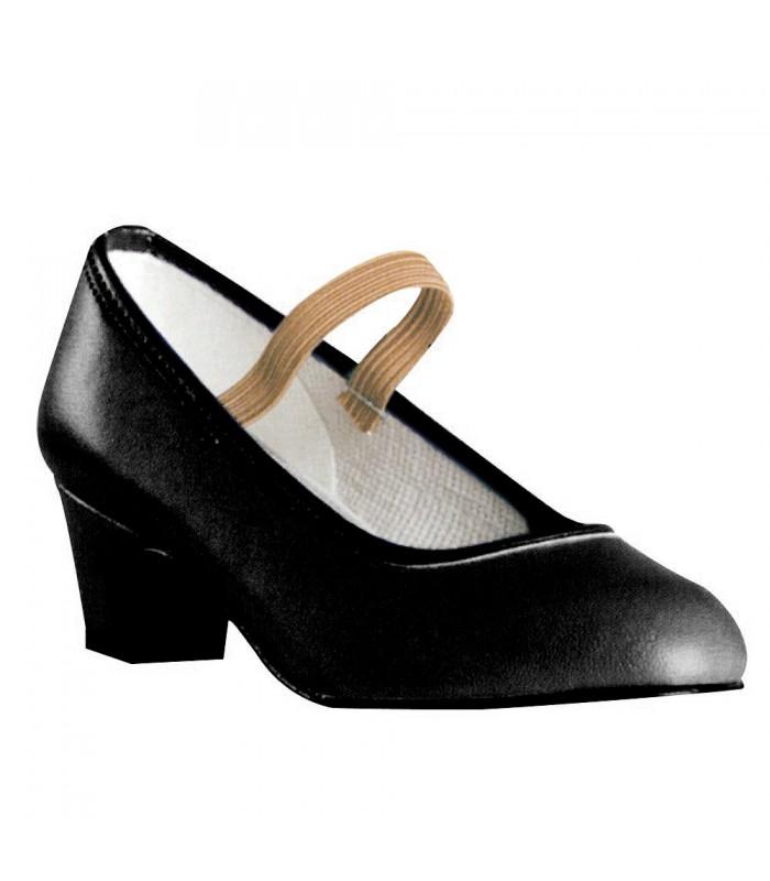 10a96c6fa Zapato flamenco niña goma - Zapatos de flamenco para niña