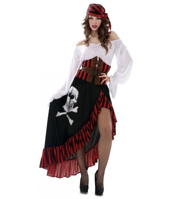 Carnaval disfraz pirata bandana mujer - Ideas originales para fiestas de adultos ...