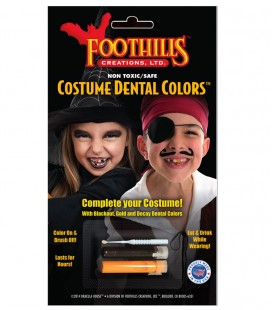 COSTUME DENTAL COLORS INFANTIL