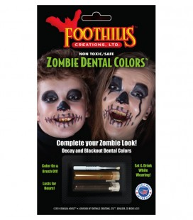 ZOMBIE DENTAL COLORS INFANTIL