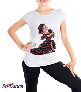 CAMISETA FLAMENCA