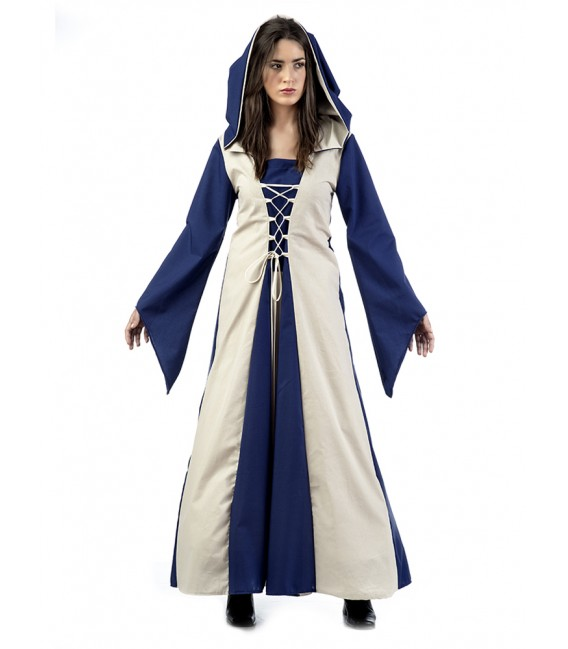 MEDIEVAL AZUL MUJER