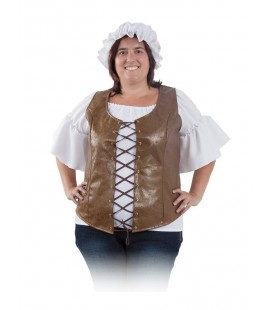 CHALECO MUJER MEDIEVAL