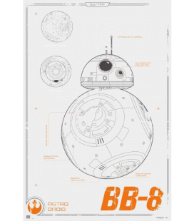 PÓSTER STAR WARS BB-8