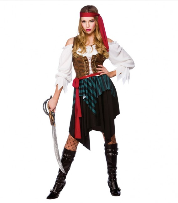 Pirata Del Caribe Disfraces Maty