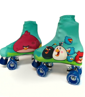 FUNDAS PATINES FANTASIA ANGRY BIRDS