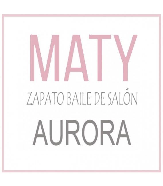 ZAPATOS BAILES DE SALÓN MOD. AURORA