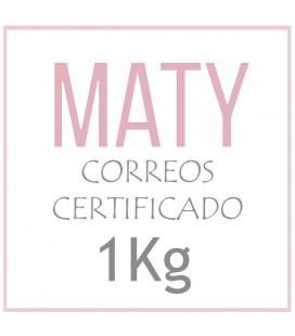 PORTES CORREO CERTIFICADO CANARIAS (1KG)