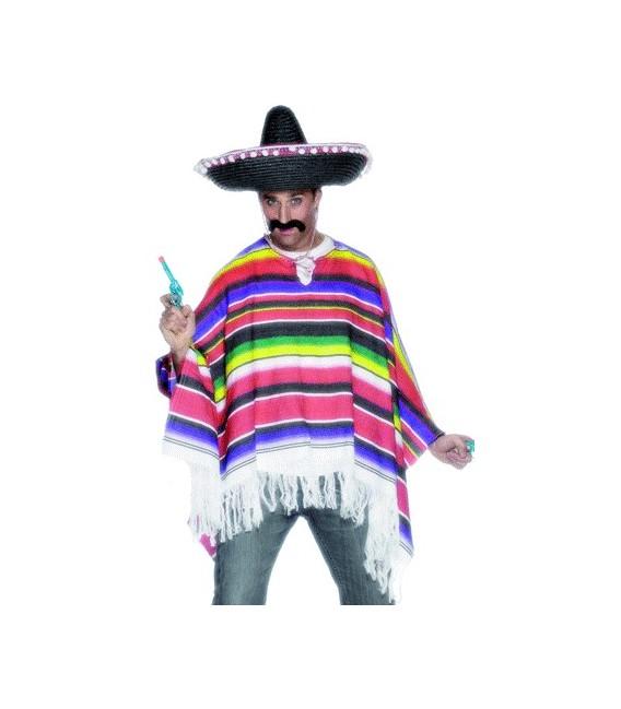 PONCHO MEXICANO ARCOIRIS
